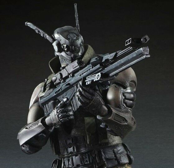 BRIAREOS Appleseed SQUARE ENIX Play Arts 25 cm 100% NEUF