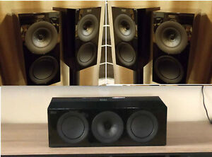 Details about BrandNewSET KEF R3 R2C R-Series Home Theatre 5 0 Package with  2 x R3 & 1 x R2C