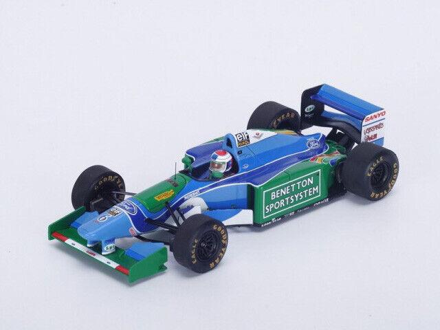 Spark Model 1 43 S4483 Benetton B194 F.1 Ford  6 3rd Belgian GP 1994 Verstappen