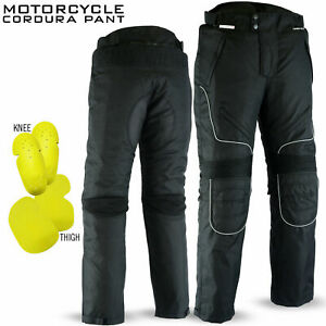 Cordura-Motorcycle-Pants-Waterproof-CE-Textile-Trousers-Padded-All-Sizes