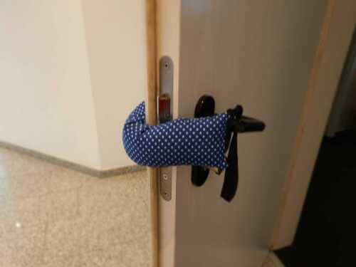 Türstopper Klemmschutz handmade viele verschiedene Farben