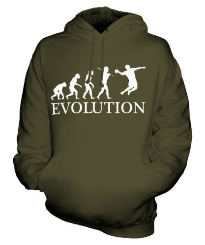 HANDBALL EVOLUTION OF MAN UNISEX HOODIE MENS WOMENS LADIES GIFT CLOTHING