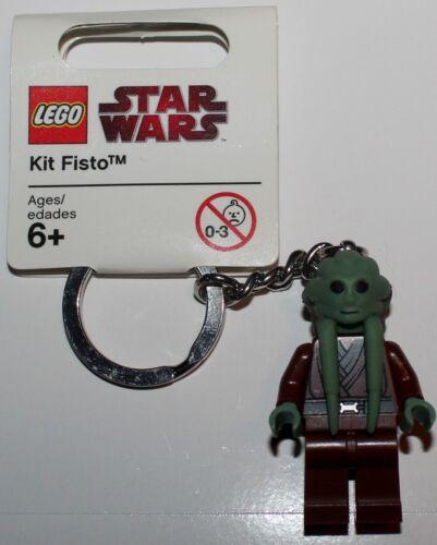 Lego Star Wars Kit Fisto Minifig Keychain NEW
