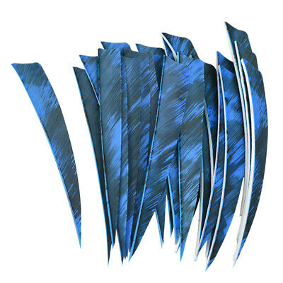 "500pcs 3/"" Natural Arrow Feather Turkey Fletches Fletching Archery DIY Wholesale"