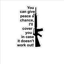 2nd Amendment  Home Security Anti Obama NRA window sticker decal IMCA USRA