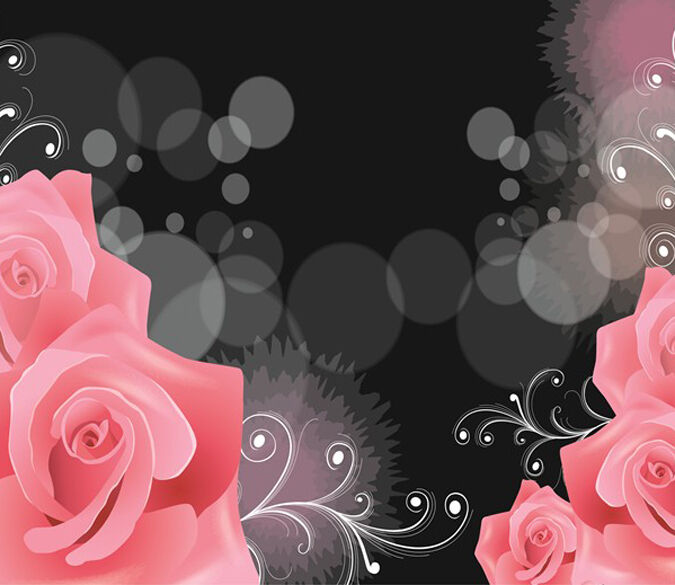 3D floral abstract image 0566 Wall Paper Wall Print Decal Wall Deco AJ WALLPAPER