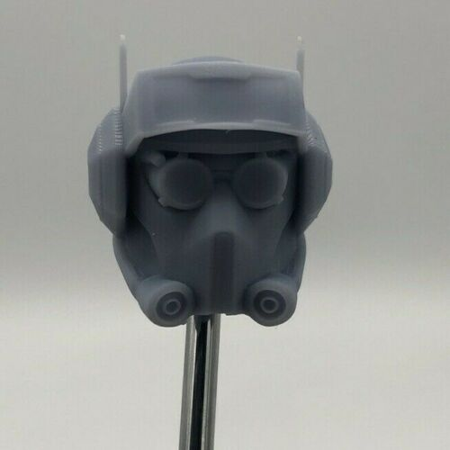 Star Wars Tech Casque CUSTOM HEAD SCULPT Hasbro Série Black