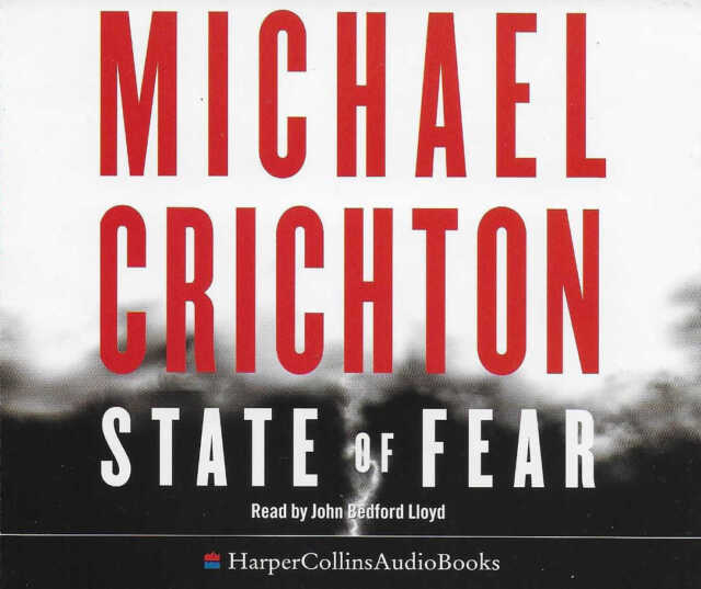 Michael Crichton - State of Fear - 6-Disc CD Audio Book - Techno-Thriller