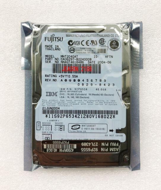 "2.5 ""40GB 4200RPM Fujitsu MHT2040AT IDE Notebook hard drive"