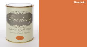 Image Is Loading Everlong Chalk Paint Mandarin Orange Matt Shabby Chic