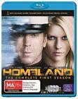 Homeland : Season 1 (Blu-ray, 2012, 3-Disc Set)