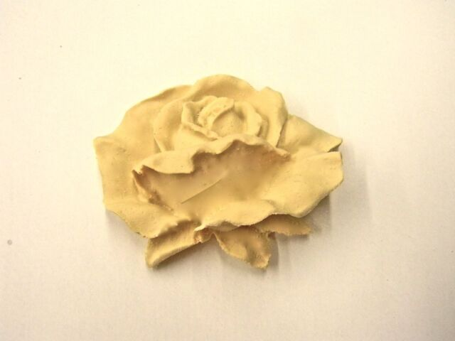 ROSES FURNITURE APPLIQUES SET OF 3-STAINABLE-PAINTABLE-$5.95 NO LIMIT SHIPPING