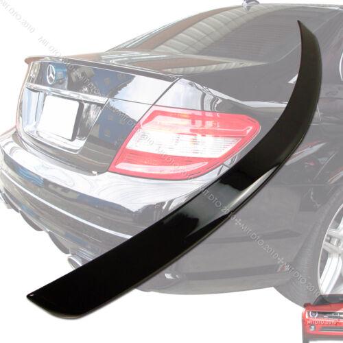 ++Painted 08-13 Mercedes BENZ W204 Sedan Trunk Spoiler Rear Wing 197 §