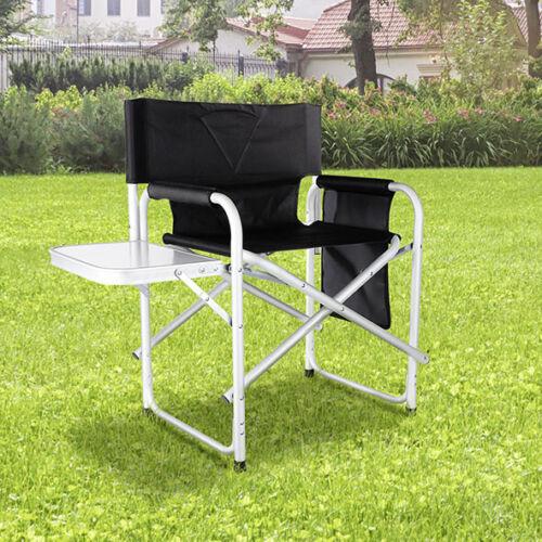 47x57x79cm Regiestuhl mit Tisch und Tasche Aluminium-Polyester max 120kg