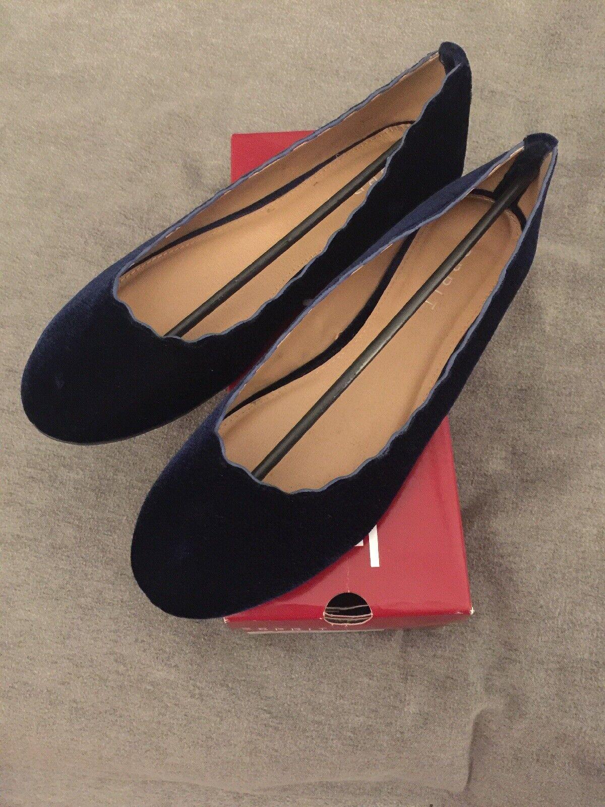 Esprit bluee Odette Flats, Size 11