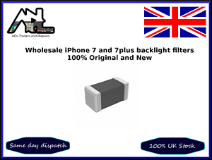 Retroilluminazione Filtro FUSIBILI FL3901 FL3902 FL3903 100 PZ ORIGINALE iPhone 7 7 PLUS