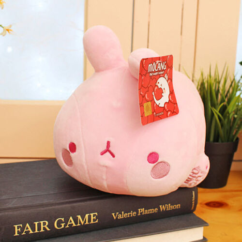 "Molang Lieing Mochi 10/"" Cute Plush Stuffed Soft Doll Kid Girl Gift Anime Toy"