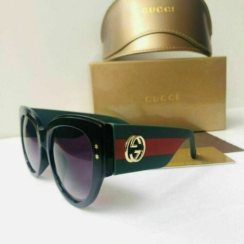 Gucci gg3864 green red green frame sunglasses