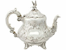 Sterling Silver Teapot - Louis Style - Antique Victorian