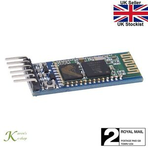 Details about HC-05 Arduino Android Wireless Bluetooth Serial 5v  Transceiver Module (MASTER)