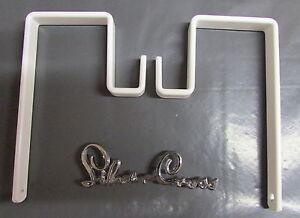 Wilson-Silver-Cross-Balmoral-Kensington-Coach-Built-Pram-Bag-Hooks-x-2-spare