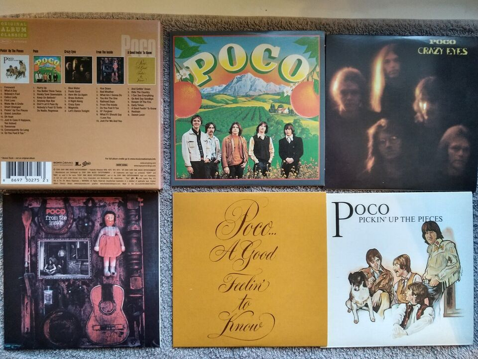 Poco: 5 originale album, rock