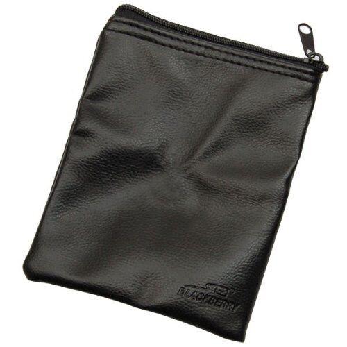 3 x BAGS Genuine BlackBerry Leather Effect Travel Bag Black Zipped PAK-03538 NEW