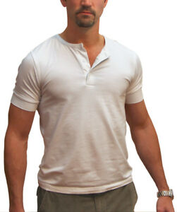 327d8c92a DRIVE Ryan Gosling Vintage Style HENLEY 3-Button T Shirt by Magnoli ...