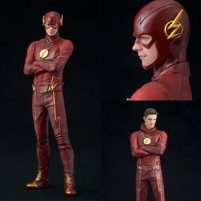 1Pc Barry Allen Superhero Justice League PVC Dolls The Flash Model Hero Decor US