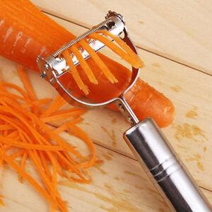 Stainless-Steel-Potato-Peeler-Fruit-Carrot-Vegetable-Slicer-French-Cutter-Grater