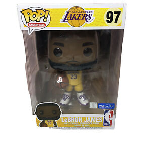 Details about Funko POP NBA Lakers LeBron James Yellow Jersey 10-Inch Vinyl Figure #97 Excl