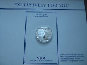 Luxembourg-1996-20-Euro-Silver-Proof-Coin-Henri-Des-Pays-Bas-MDM-COA-card