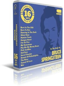 16-Backing-Tracks-MP3-In-The-Style-Of-BRUCE-SPRINGSTEEN-Pendrive-Listen-Demos