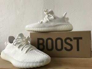 Adidas-Yeezy-Boost-350-v2-Cream-Off-White-cp9366-UE-41-1-3-US-8-UK-7-5-New