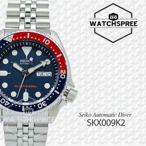 Seiko-Men-039-s-Automatic-Diver-Watch-SKX009K2-AU-FAST-amp-FREE