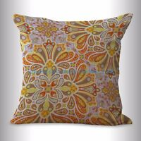 Us Seller- Decorative Pillow Case Covers Retro Vintage Floral Cushion Cover