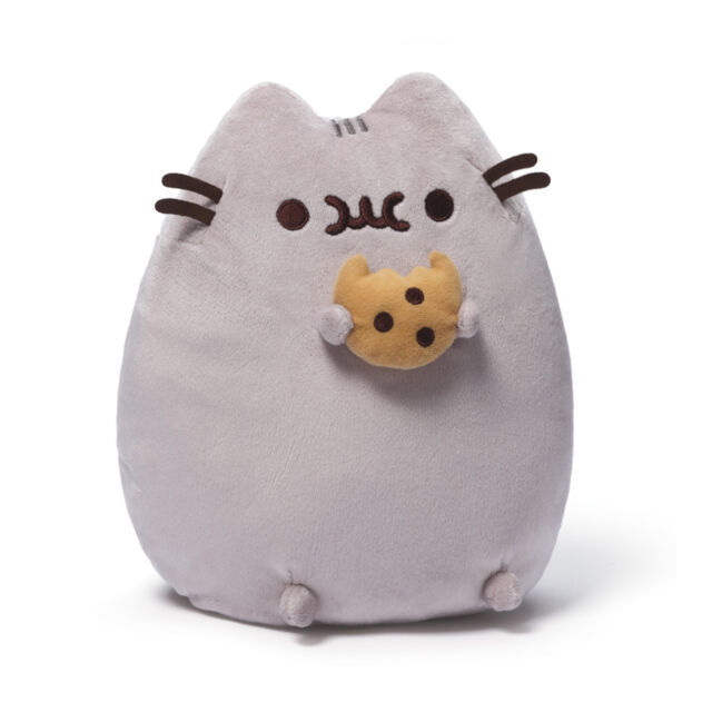 "Pusheen with Cookie 9.5"" Plush # 4048870 Gund  IN STOCK"