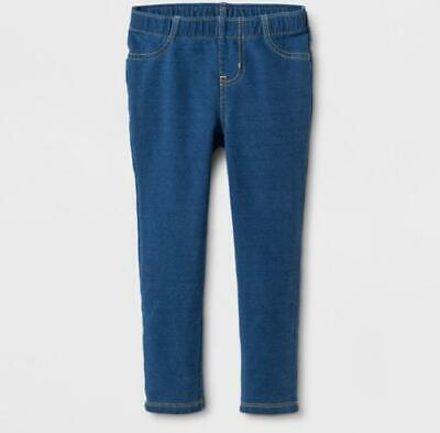 AQUA Toddler Girls/' French Terry Jeggings Blue 2T 3T 4T  $40