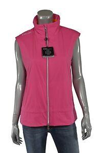 de9ad71f888 Women s Polo Ralph Lauren RLX Golf Pink Water Resistant Vest Jacket ...