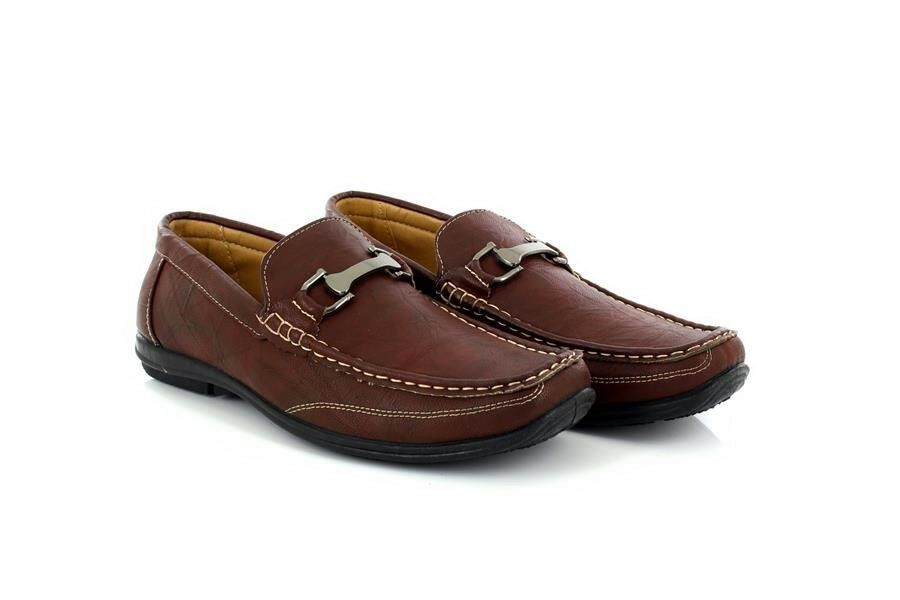 Man/Woman Mens Brixton C003 Brown Slip On Shoes Loafer Driver Smart Casual Shoes On wholesale Modern design Good quality BR312 5a5eef