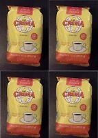 Crema Brand Coffee From Puerto Rico, 4 Bags Ground Coffee, 14oz -