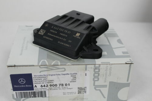 Genuine Mercedes-Benz OM642 V6 Glow Plug Control Unit Relay A642900780187 NEW
