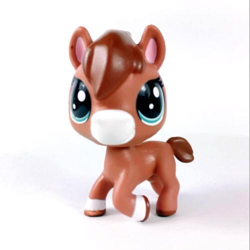 Littlest pet shop Glimmer Horse PONY Animal Hasbro LPS Figure rare Toy Doll