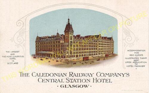 Caledonian Railway. 4 Glasgow Central Railway Station Photo