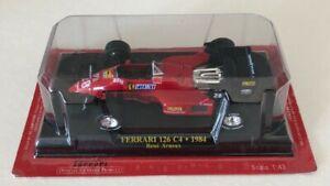 Ferrari-F1-Collection-126C4-Rene-Arnoux-1984-1-43-NO-Spark-Minichamps