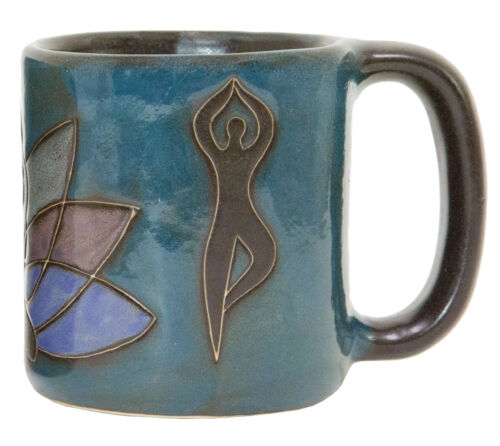 Yoga Mara Stoneware Mug One Mug 510D8 16 oz Round Bottom