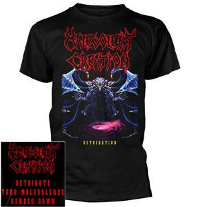 Malevolent-Creation-Retribution-Shirt-S-XXL-Death-Metal-Band-T-Shirt-Official
