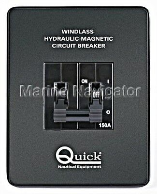 QUICK Hydraulic Magnetic Circuit Breaker Switch for Anchor Windlass 40A
