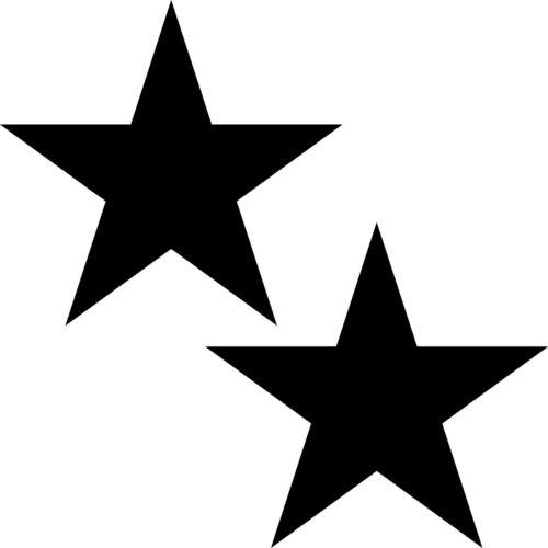 Étoile Étoiles Autocollant Tatouage Déco Film Klebestern pour Fenêtre Auto