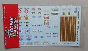 SERVICE-PICKUP-TOW-TRUCK-1-24-1-25-GOFER-RACING-DECALS-CAR-MODEL-ACCESSORY-11038